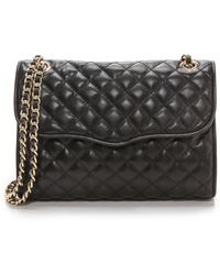 Rebecca Minkoff Quilted Affair Bag - Black - Lyst