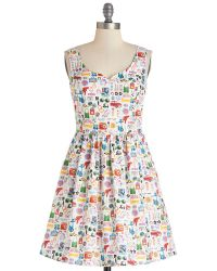 ModCloth The Mod Life Dress - Lyst