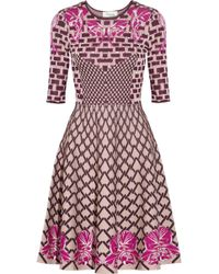 Temperley London Carissa Jacquardknit Dress - Lyst