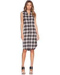 Jenni Kayne Black Shirt Dress - Lyst