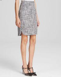 Kate Spade Tweed Pencil Skirt - Lyst