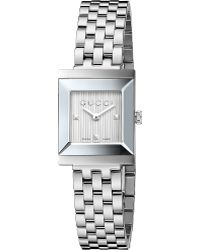 Gucci G-frame Collection Stainless Steel Watch - Lyst