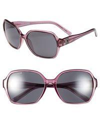 Converse - 59mm Sunglasses - Grape - Lyst