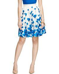 Brooks Brothers Silk Printed A-Line Skirt - Lyst