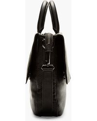 Marc By Marc Jacobs - Black Leather Robbie G Messenger Bag - Lyst