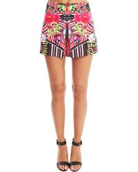 Clover Canyon - Floral Maze Shorts - Lyst