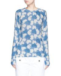 Equipment | 'sloane' Heart Intarsia Cashmere Sweater | Lyst