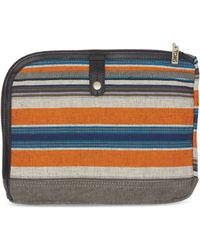 TOMS - Multi Stripe Canvas Sidetrack Tablet Case - Lyst