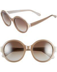 Marni 54Mm Round Sunglasses - Lyst