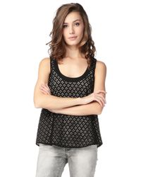 See By Chloé Short Sleeve Top - L4E3700M3514C74 - Lyst