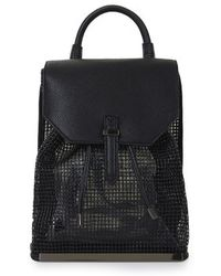 Topshop Smart Mesh Backpack - Lyst