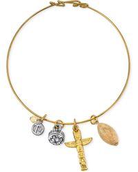 Tru. - Two-tone Talisman Of Courage Charm Bracelet - Lyst