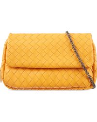 Bottega Veneta Messenger Nappa Bag Sun - Lyst