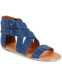 Gentle Souls Blessie Leather Sandals - Lyst