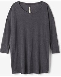 Raquel Allegra Couture Tee No Shred - Lyst