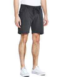 Diesel Mens Crew Beach Jersey Shorts - Lyst