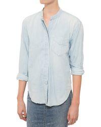 Citizens of Humanity Corrine Shirt blue - Lyst