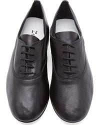 Repetto Black Leather Lightweight Original Oxfords - Lyst