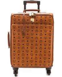 MCM - Small Trolley Cabin Case - Cognac - Lyst