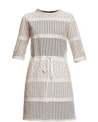 Rumour London - Capri Lace Dress With Sheer Sleeves - Lyst