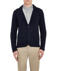 Band Of Outsiders Knit Twobutton Blazer - Lyst