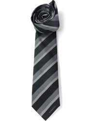 Burberry Striped Tie - Lyst