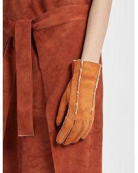 JOSEPH - Sheepskin Glove - Lyst