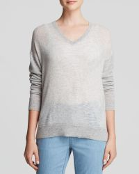 Vince Sweater - Striped Cashmere - Lyst