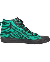 Jeremy Scott for Adidas Nizza Hi Printed Sneaker Green/Black - Lyst