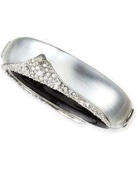 Alexis Bittar Deco Crystal Hinge Bracelet - Lyst