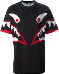Love Moschino Monster Print T-Shirt - Lyst