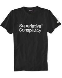 Wesc Superlative Conspiracy T-shirt - Lyst