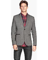 H&M Marled Jacket - Lyst