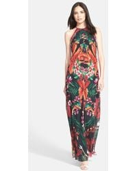 Ted Baker 'Mircana Toucan' Print Maxi Dress - Lyst