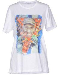 Berna T-Shirt white - Lyst
