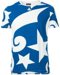 Vivienne Westwood Anglomania Galaxy Print T-Shirt - Lyst