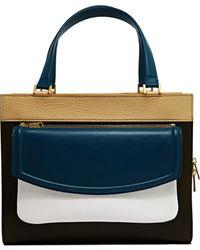 Vionnet - Womens Squared Calfskin Handbag - Lyst