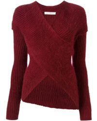 J.W. Anderson Wrap Style Sweater - Lyst