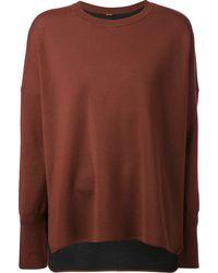 Adam Lippes Basic Sweater - Lyst