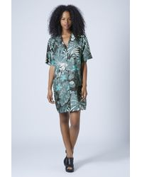 Topshop Jungle Print Dress by Boutique - Multi - Lyst