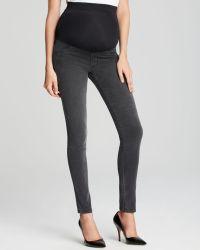James Jeans Twiggy Maternity Legging in Slate Ii - Lyst