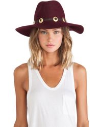 Lovely Bird - Buenos Aires Gold Concho Hat - Lyst