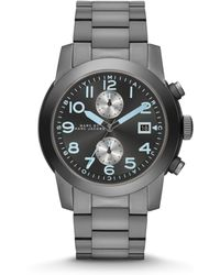 Marc By Marc Jacobs Stainless Steel Two-Eye Chronograph Watch - Lyst