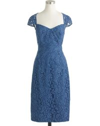 J.Crew Tinsley Dress In Leavers Lace - Lyst