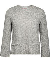 Harvey Faircloth Mod Zip-Back Sweatshirt - Lyst