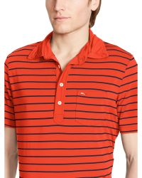 Ralph Lauren | Striped Pocket Polo Shirt | Lyst