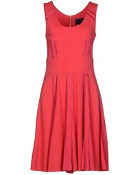 Class Roberto Cavalli Knee-length Dress - Lyst