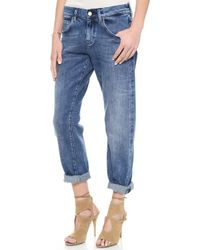 MiH Jeans The Manchester Jeans Cosy Faded Wash - Lyst