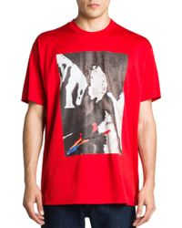 Givenchy Statue Graphic Tee - Lyst