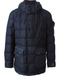 Moncler W Hooded Padded Coat - Lyst